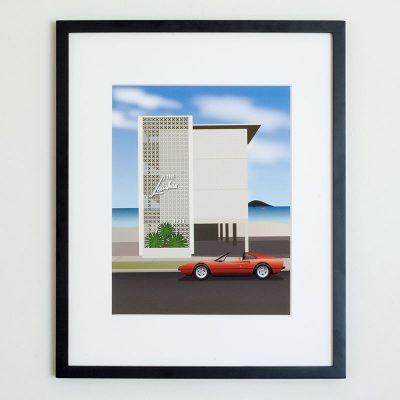 308 framed