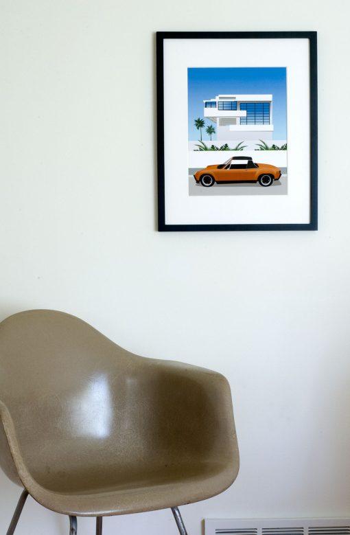 Lovell Beach House Porsche 914