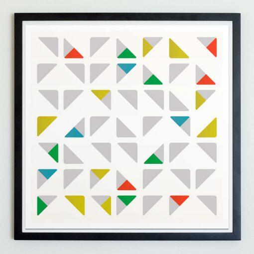 Triad Square Multi-Color